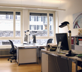 Photograph of the Office space