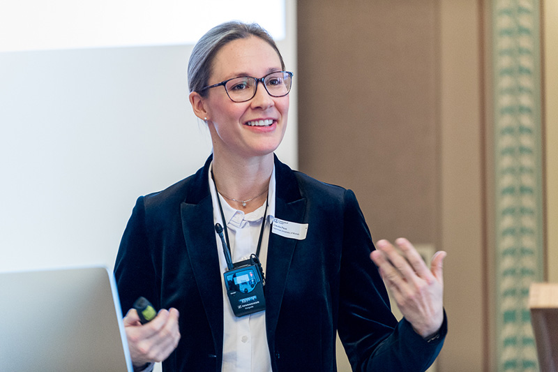 Claudia Peus, Chairholder of research and science management at Technical University of Munich and Vice Dean of Executive Education at the TUM School of Management